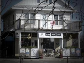 Exterior of the Water Lily in Hastings, Ontario